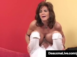 Super-naughty Housewife Deauxma Gets poked rectally & Gets nutted On pornvideo
